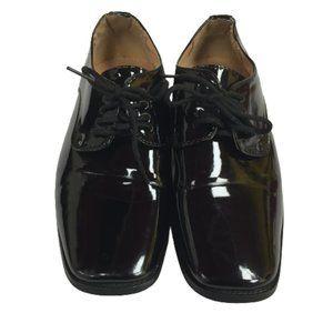 Aldo Bellini Comfortable Boys Size1 Black Shoes